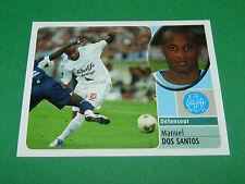 MANUEL DOS SANTOS OLYMPIQUE MARSEILLE OM PANINI FOOT 2003 FOOTBALL 2002-2003