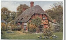 Hampshire; New Forest, Arts Guild Cottage, Artist Signed A R Quinton PPC, Unused