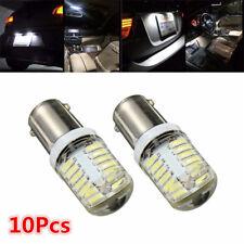 10Pcs BA9S T11 T4W 4014 White LED 24-SMD Car Side Light Bulb Interior Lamp DC12V