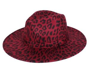 FEDORA PANAMA COWBOY INDIANA JONES UPTURN WIDE BRIM COTTON BLEND FELT HAT