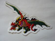 """Flying Multi colored Dragon Patch 8"""""""