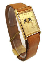 VETTA OROLOGIO UOMO MOCASSINO PLACCATO ORO FASI LUNARI WATCH MAN GOLD MOON
