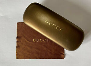 Gucci Glasses  or Sunglass Case - Cloth Included - Authentic
