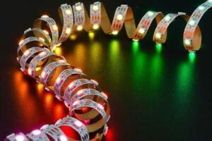 Digital RGB LED Strip (White) - 60 LEDs/Metre - Brisbane Stock - Fast Dispatch