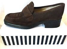 RMK design FAB LOAFER STYLE SUEDE LEATHER HEELS/SHOES,SZ 8, VGC COND,RRP$149.95!