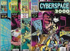 CYBERSPACE 3000 LOT OF 4 - #1 GALACTUS #2 #3 #4 (NM-)