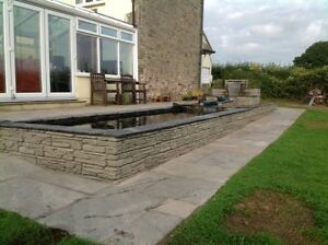 Slate Effect Walling 50 no Antique Green Including Delivery (few exceptions).