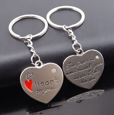 MonkeyEAT Heart Valentine's Day Couple's Keychain