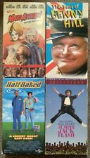 Vhs Movies Mars Attacks Best of Benny Hill Half Baked Jumpin' Jack Flash