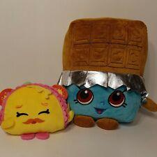 "Shopkins Plush Set 10"" Cheeky Chocolate & 5"" Taco Terrie Plushies"