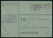 Mayfairstamps Netherlands 1939 Amsterdam Tuberculosis Cancel Cover wwr_09155