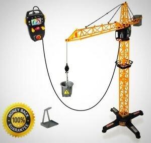 Dickie Toys 40 Giant Crane Play Set Remote Control Construction Toy Children