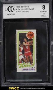 1980 Topps Basketball Single Panel Julius Erving BCCG 8
