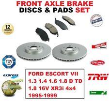 Für Ford Escort VII 1.3 1.4 1.6 1.8 16V XR3i 1995-1999 Bremsscheiben Vorne +