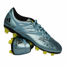 M Surname Initial Signed Football Boots