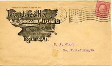 U.S. Scott 332 2 Cent Washington on 1909 Thorndike & Hix Ad Cover