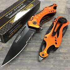Tac Force Spring Assisted EMT EMS Emergency Rescue Pocket Knife w/ Bottle Opener