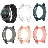 Cy_ 42 46mm TPU Smart Watch Bumper Case Protective Cover for Huawei Watch GT 2 P