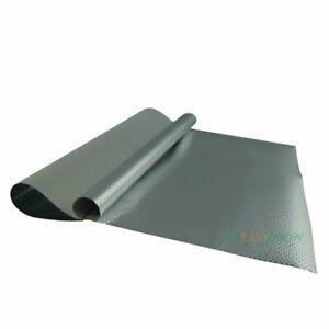 ECO Diamond Diffusion Silber Weiß Folie 10m Rolle Grow Anzucht Gewächshausfolie