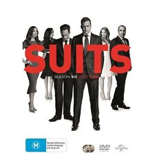 SUITS-Season 6, Part 2-Region 4-New AND Sealed-2 DVD Set-TV Series