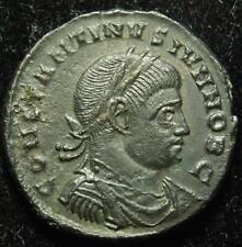 Constantine II AE3 centenionalis CAESARVM NOSTRORVM/ VOT V, Rome 321AD