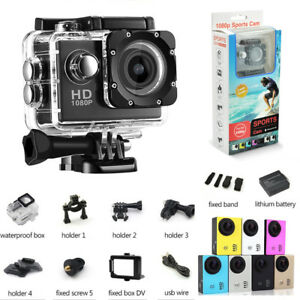 2018 action camera Sport camara deportiv Diving Waterproof 1080P Full HD Go Pro
