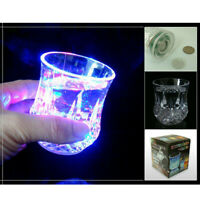 Colorful LED Glowing Beer Cup Induction Flashing Wine Glass Party Bar Drink Cups