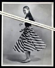 1960's Vintage VIRGINIA BOSLER Photo BRIGADOON OKLAHOMA Broadway Actress