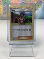SHIPS SAME DAY Pokemon Card NM Olivia 119/147 Supporter 2017 Uncommon