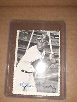 1969 Topps Deckle Edge Baseball Card #31 Willie MCCovey SAN FRANCISCO GIANTS