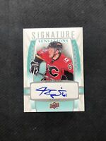 2011-12 UPPER DECK SERIES ONE JOHN NEGRIN SIGNATURE SENSATIONS AUTO #SS-JN