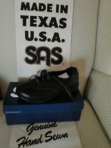 RETIREMENT SALE-NEW SAS WALK EASY/BLACK  W/BOX