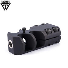 .223/6mm Steel Clamp-on Muzzle Brake Compensator Fits 20.8-21.2mm With Wrench