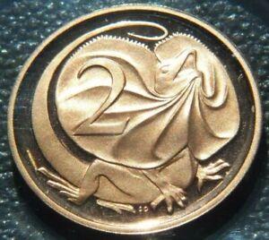 1984 Australia 2 Cent PROOF Coin ex Proof Set