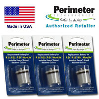 3 Dog Collar Batteries for Invisible Fence R21 R51 Microlite Perimeter IFA-001