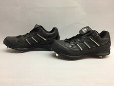 Adidas Spinner 7 Low Baseball Shoes #113873 Black, Size 14 US
