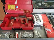HILTI DX750 Ram Set, Preowned + fastener guide, magazine 8+ box nails, shells #2