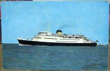 Postcard Transport Ship Oostende Dover Mail boat - posted 1967