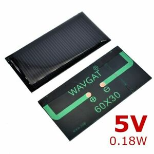 Solar Cell Thin Film Photovoltaic Mono Perc DIY Solar Panel Cell Battery Charger