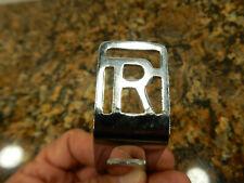 Raleigh or Rollfast NOS Chrome light bracket  Mounts on fork tube