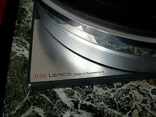 Lenco B55, GL75, L78  Platter Stacking Spindle Adapter. Long Stainless Steel.