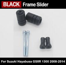 For 2008-2014 Suzuki Hayabusa GSXR 1300 Black Frame Sliders Crash Protector Kit