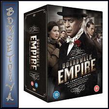 BOARDWALK EMPIRE - COMPLETE SERIES - SEASONS 1 2 3 4  & 5 ** BRAND NEW DVD***