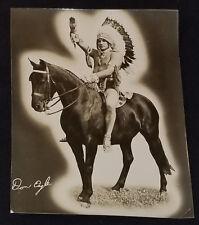 1950's - WRESTLER - DON EAGLE - INDIAN WRESTLING STAR - PHOTO - ORIGINAL