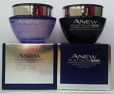 AVON Anew Platinum Define & Contour : Day Cream 50ml + Night Cream 50ml SET !