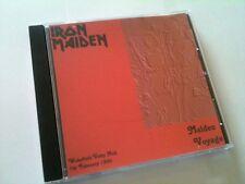 Iron Maiden Concert CD Wakefield England 1980