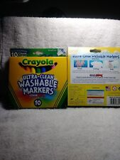 Crayola Ultra-clean Broad line Classic colors Washable Markers (10 Count)