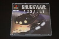 Shockwave Assault Game PlayStation One PS1 Good Condition No Manual Incl UK PAL