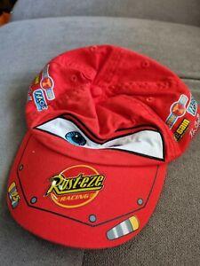 Disney Store Pixar Cars Lightning McQueen Toddler Baseball Cap Hat Kids Boys