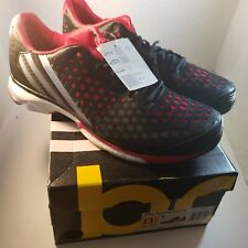 Adidas Womens Running Shoe Size 13.5 Volley Response Boost Black/Red